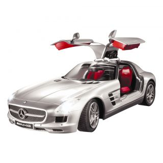 16 R/C MERCEDES BENZ SLR SPORTS CAR LED LIGHTS RADIO CONTROLLED WITH