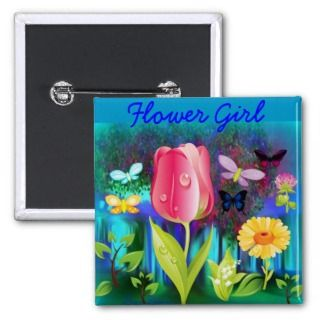 Fairyland Gardens, Flower Girl Pin ~ TBA Awarded