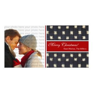 Couples Photo Christmas Card Personalized Photo Card