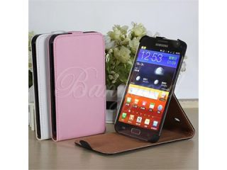 Leather Case Stand Cover / Screen Protector For Samsung Galaxy Note