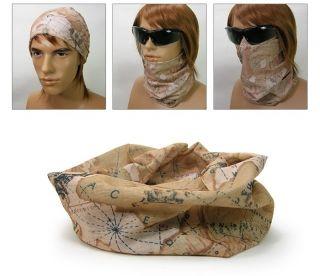 MS361 Multi Function Scarf  Headwear UV COOLMAX Bandana Tube Mask