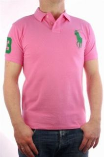 Polo by Ralph Lauren Polo Shirt Big Pony Collection für Herren pink