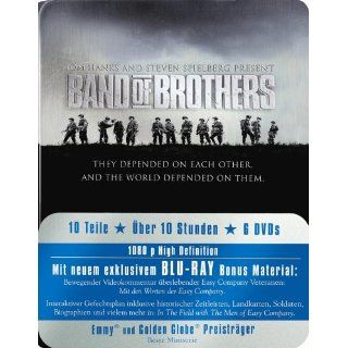 Band of Brothers   Box/Metal Pack [Blu ray] Michael