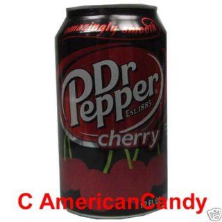NEU aus den USA: 24 x 355ml Dr Pepper CHERRY (3,05€/l)
