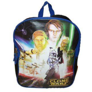 STAR WARS, CLONE WARS   cooler Kinder RUCKSACK   Obi Wan, Yoda, Anakin