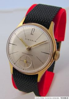 Kienzle Handaufzug Herrenuhr mechanische Uhr vintage men gents wrist