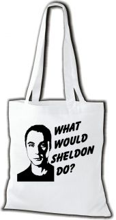 Stoffbeutel The Big Bang Theory What Would Sheldon Do? Kult Beutel