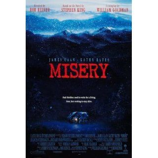 MISERY   STEPHEN KING   US MOVIE FILM WALL POSTER   30CM X 43CM JAMES