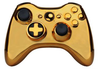 HÜLLE TRANSFORM D PAD FÜR XBOX 360 WIRELESS CONTROLLER GOLD