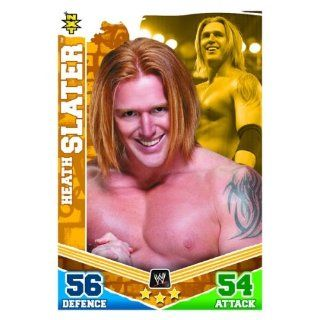 Heath SLATER NXT Slam Attax MAYHEM Trading Card Spielzeug