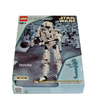® Technic Star Wars 8008   Storm Trooper 361 Teile 9+   Neu