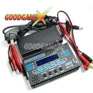GT Power X  CHARGER C6 6A 50W 1 6s Lipo NIMH Balancer +Ladegerät mit