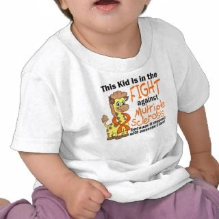 Kid In The Fight Against Multiple Sclerosis T Shirt