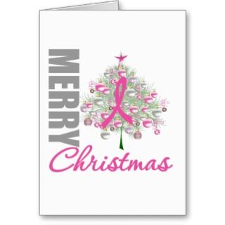 Cancer Christmas Ribbon Wreath T Shirts, Breast Cancer Christmas