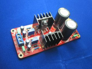 Adjustable regulator power supply base on LM317 LM377
