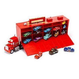 Disney Pixar Cars Mack Transporter & 15 Die Cast Cars