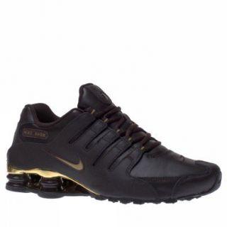 Nike Shox NZ Schuh Velvet Braun Metallic Gold Schuhe