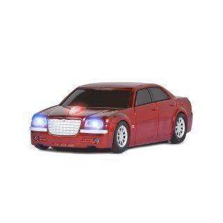 Road Mice Chrysler 300C   rot   Funkmaus, Maus, USB