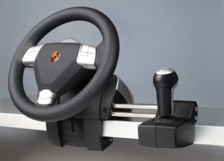 Fanatec Racing Lenkrad Porsche Carrera 911 Wheel + Pedale PC PS2 PS3