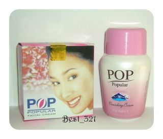 Pop Popular Facial Cream + Pop Popular Vanishing Cream Plus Vitamin E