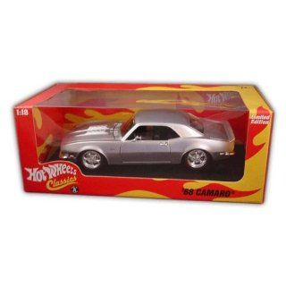 Hot Wheels Classic   Limited Edition 118   1968 Chevy Camaro   silver