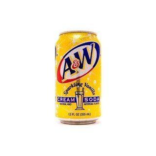 Sparkling Vanilla Cream Soda 355ml Lebensmittel