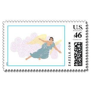 Holiday Angel USPS Christmas Postage Stamp 2011