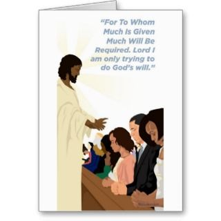Cards, Note Cards and African American Religious Greeting Card