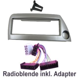 Ford KA Radioblende inkl. ISO Adapter Kabel #8 394