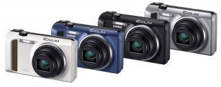 Casio EXILIM EX ZR400 Digitalkamera 3 Zoll schwarz Kamera
