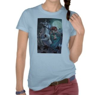 Grimm Fairy Tales #43 B   The Last Unicorn T shirts