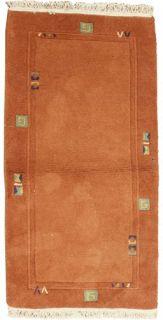 Teppich NEPAL 135x70 Orientteppich Modern Läufer Carpet Rug