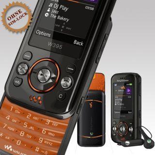 Sony Ericsson Walkman W395   Fiesta Black (Ohne Simlock) Handy NEU