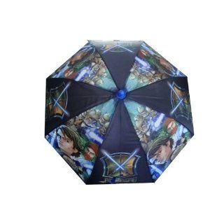 Star Wars Kinder Regenschirm mit Star Wars Motiven und Clone Trooper
