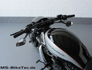 Spiegel Drop schwarz Harley Davidson V Rod Night Rod Special Muscle