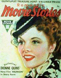 Hepburn, Katharine   Romantic Movie Stories Magazine Cover 1930s Masterprint