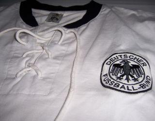 ORIGINAL DFB Deutschland Retro Trikot Shirt WM 1954 Gr. S M TOP