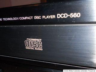 DENON DCD 560 CD PLAYER mit Fernbedinung Voll fuktionstüchtig