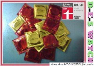 100 AMOR Kondome MHD 2015 Stiftung Warentest SEHR GUT