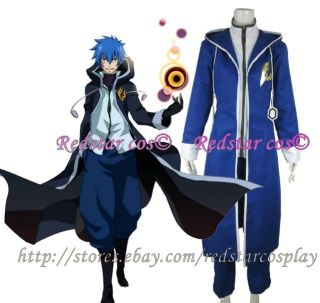 Jellal Fernandes from Fairy Tail Anime Cosplay Costume   Custom made