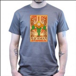 Big Bang Theory   Aquaman   T Shirt dunkelgrau Bekleidung