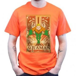 Big Bang Theory   Aquaman   T Shirt   Orange Bekleidung