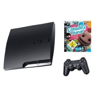 PS3 Slim Konsole Sony Little Big Planet Set Elektronik