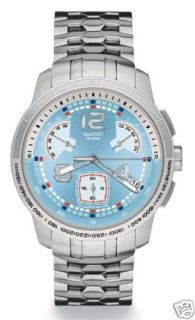 SWATCH+Irony Chrono RETROGRADE+NORDIC POWER+YRS417G+NEU
