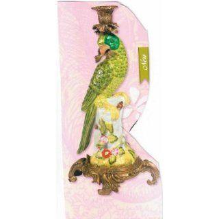 45251   Die Spiegelburg Collection   a Papageien Kerzenhalter