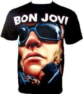 BON JOVI T SHIRT Fanshirt Schwarz Black Gr S Bekleidung