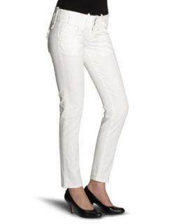 Fornarina KITTY WHITE STRETCH COTTON PANT BER1B89R16009 Damen Hosen