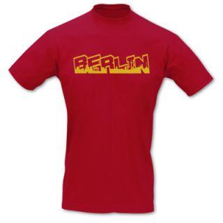 Shirt Berlin Schriftzug Skyline Graffiti Sols 8 Farben S   5XL