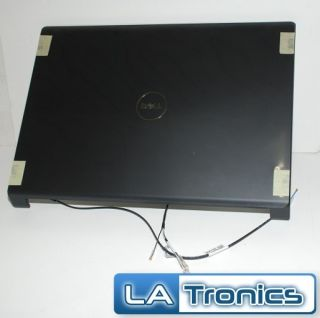 Dell Studio 1735 1737 BLACK LCD Back Cover +Power Button +Antennas