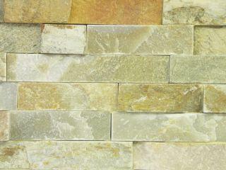 65,39 Euro/m²) Schiefer Riemchen Wandverkleidung Naturstein